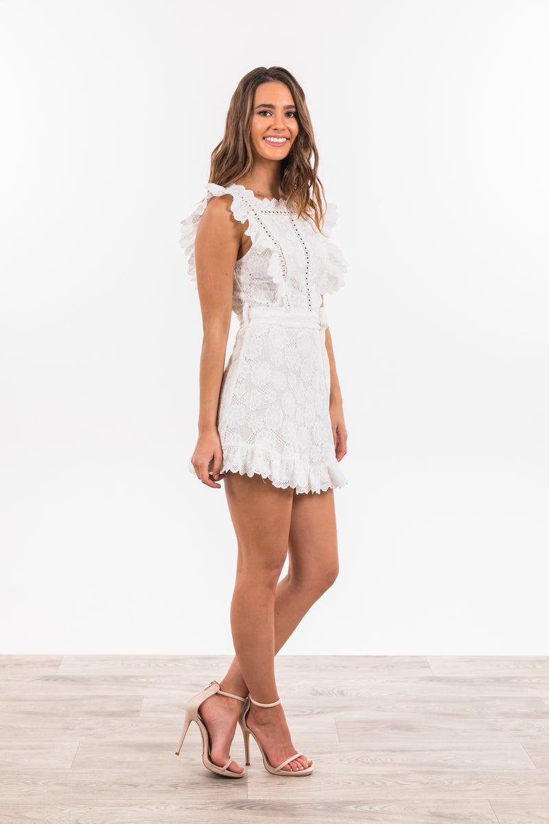 Gianna Dress - White