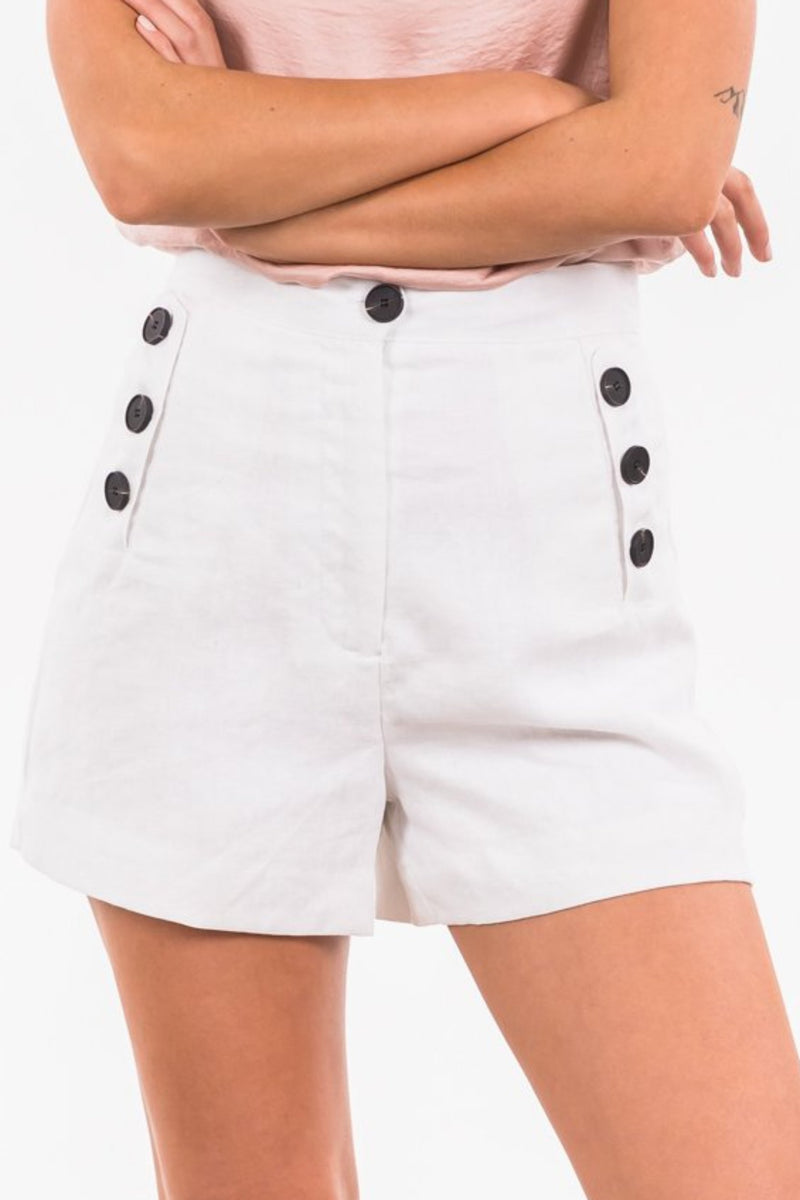 Cuban Shorts - White
