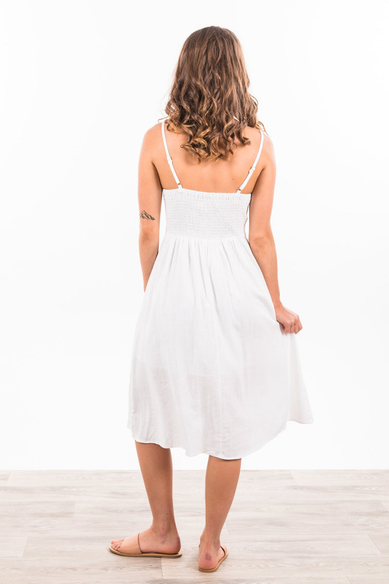 Kendall Dress - White