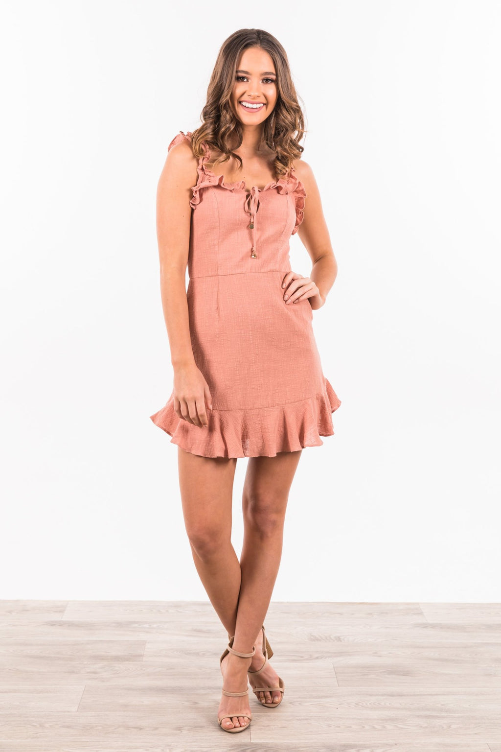 Coralina Dress - Rose