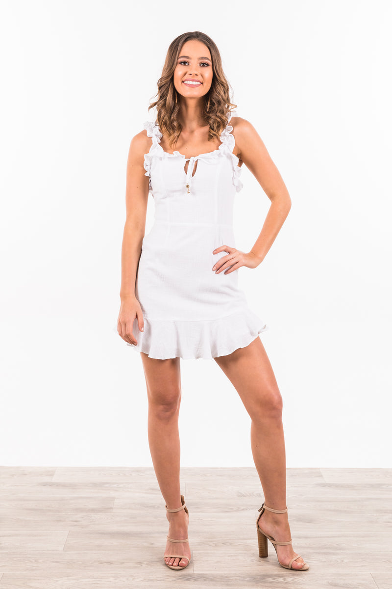 Coralina Dress - White