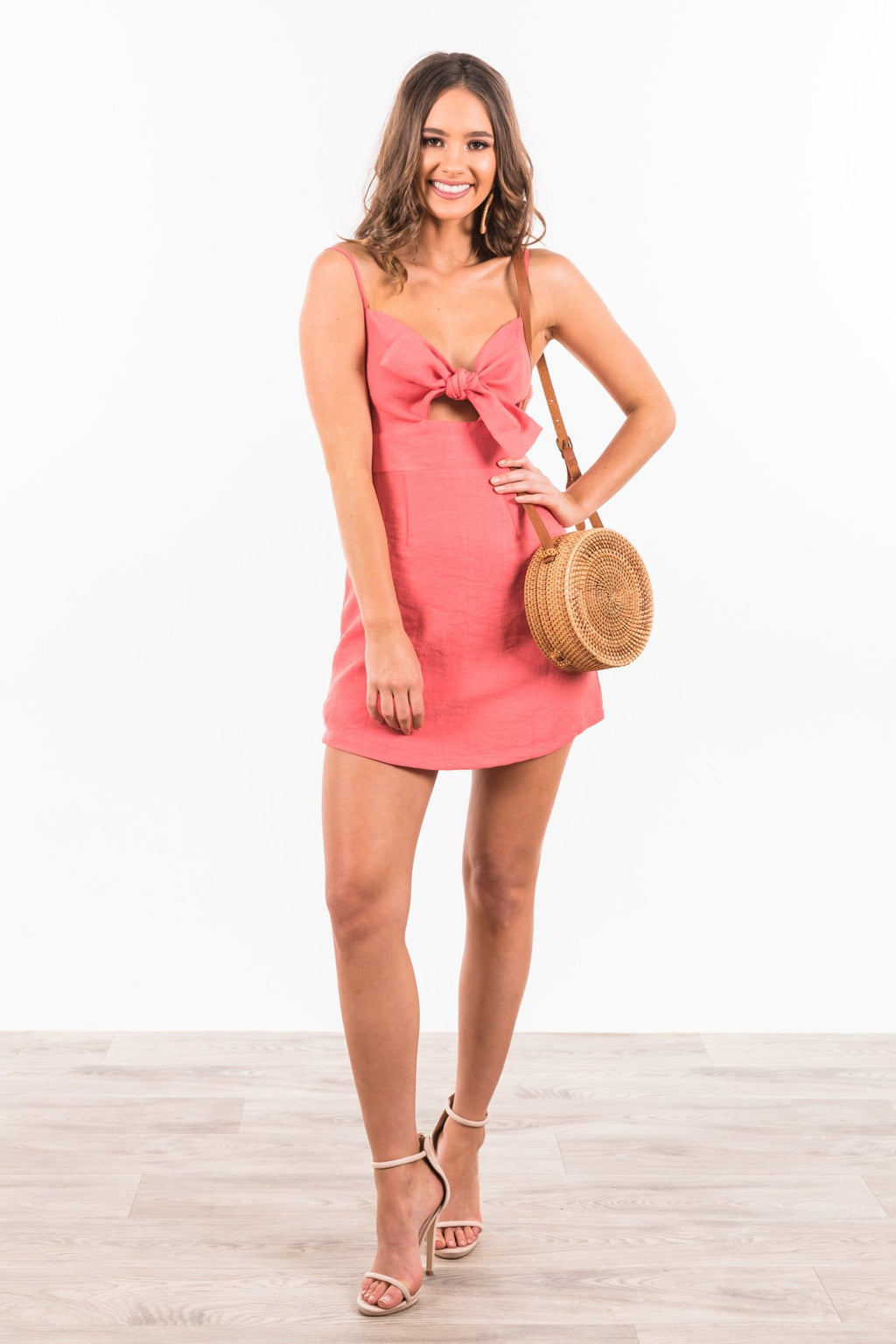 Airlie Dress - Coral