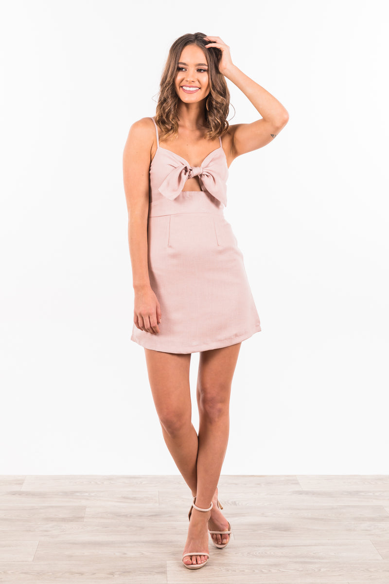 Airlie Dress - Blush