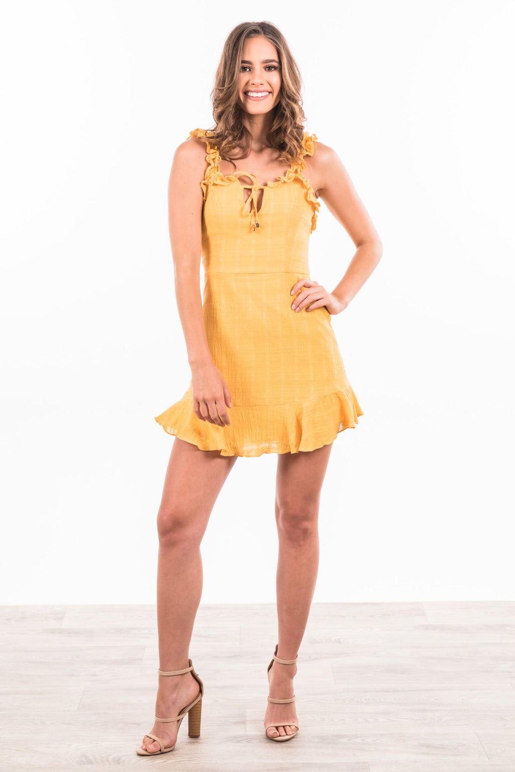 Coralina Dress - Yellow