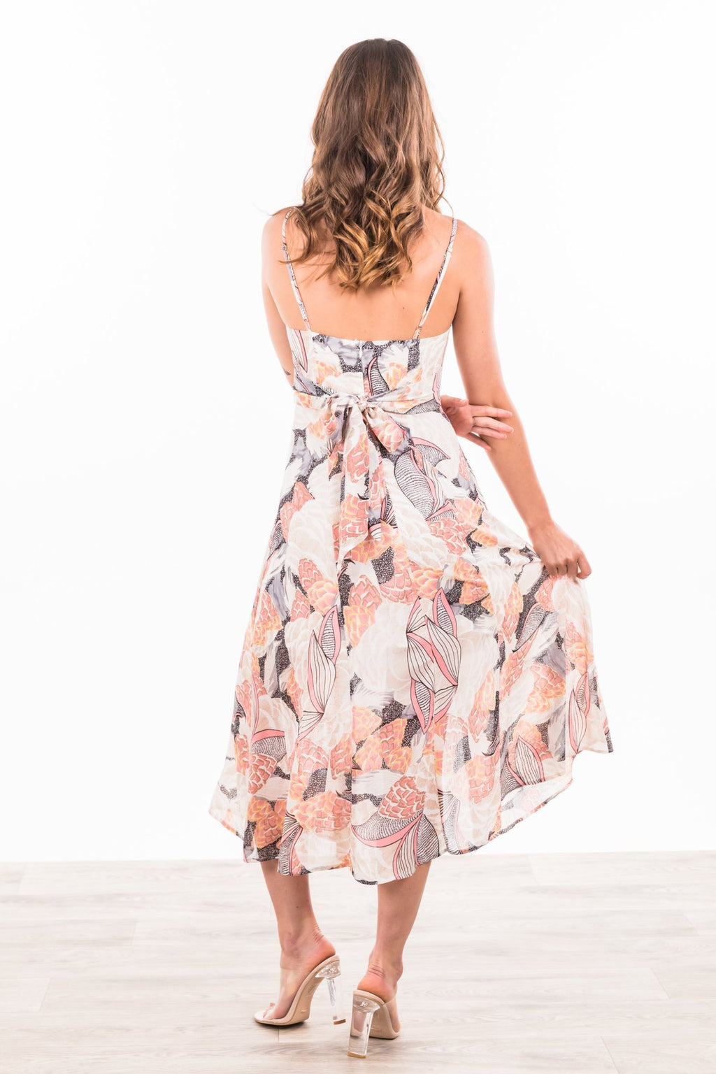 Joslyn Maxi Dress - Pink / Navy