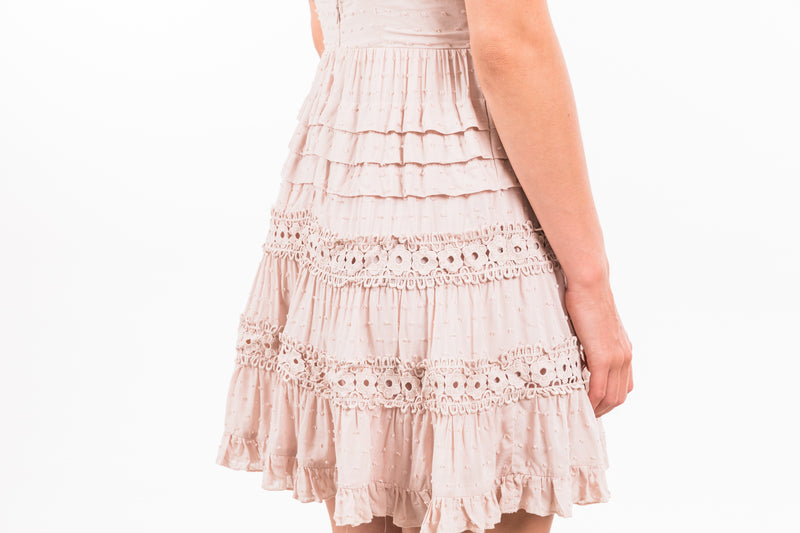 Tatum Dress - Blush