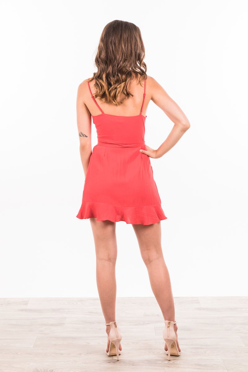 Molly Dress - Red