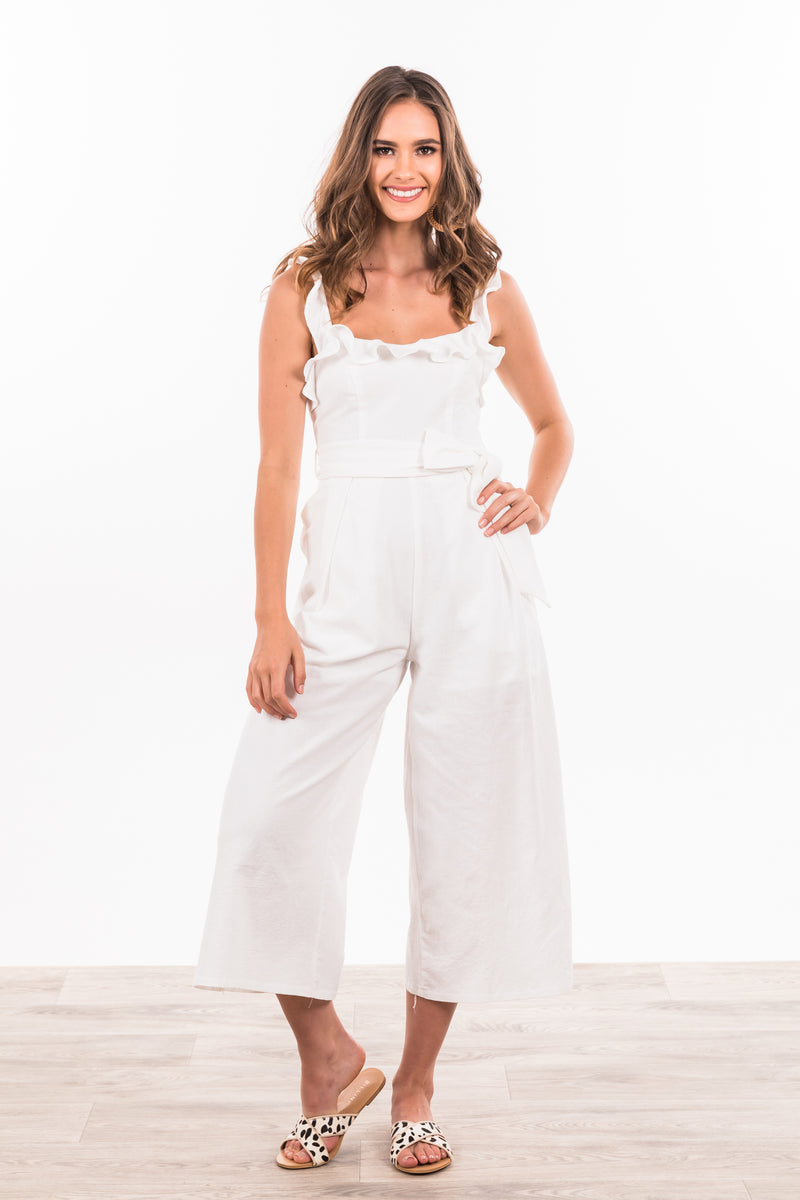 Dakota Jumpsuit - White