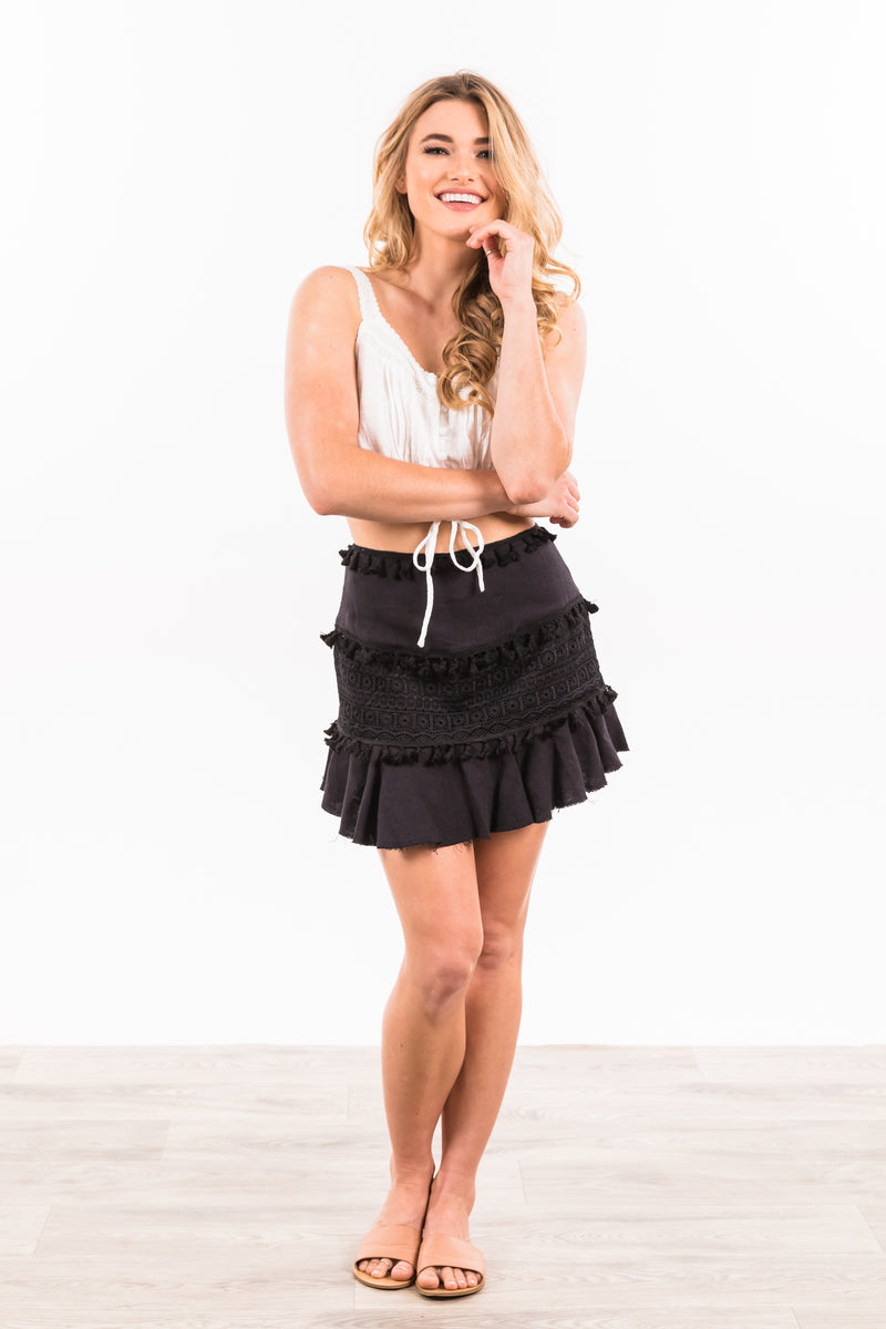 Gracie Skirt - Black