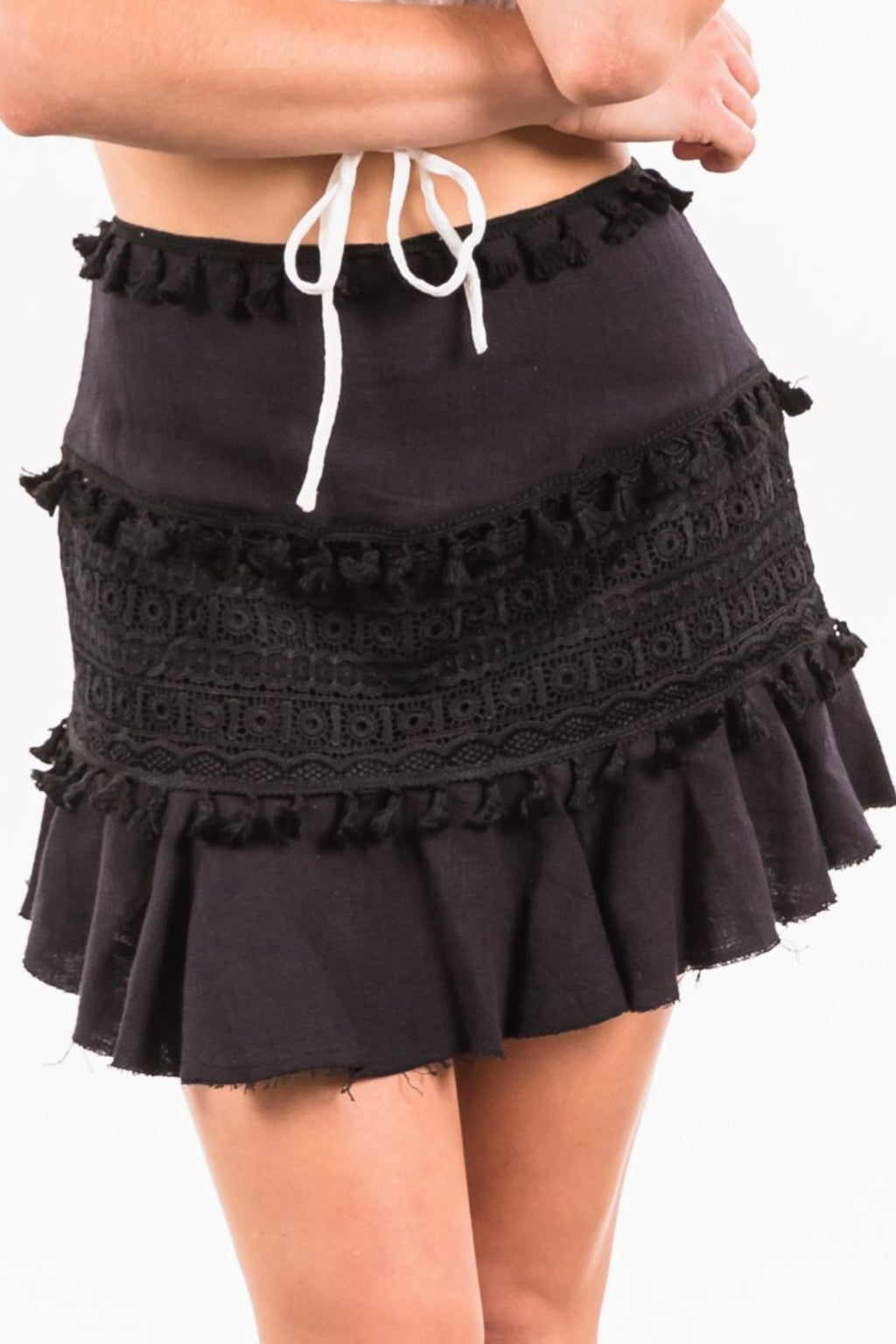 Chrissy Skirt - Black