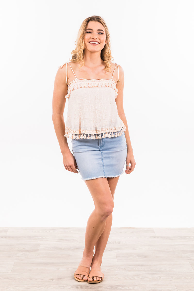 Doris Top - Beige