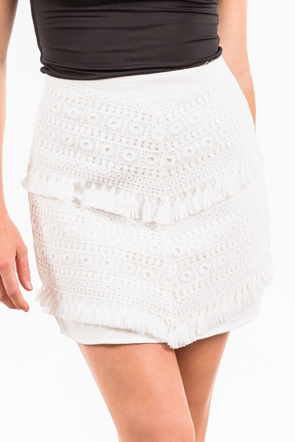 Clovelly Skirt - White