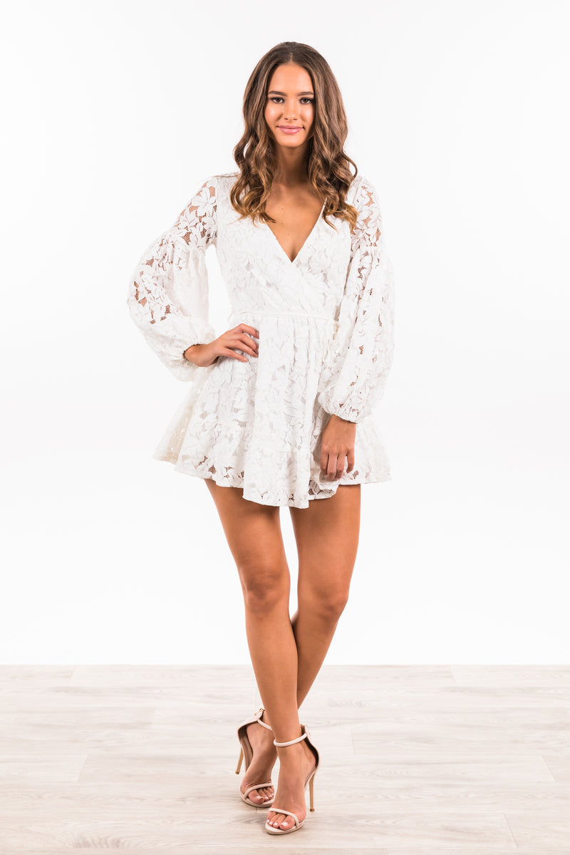 Laylah Dress - White