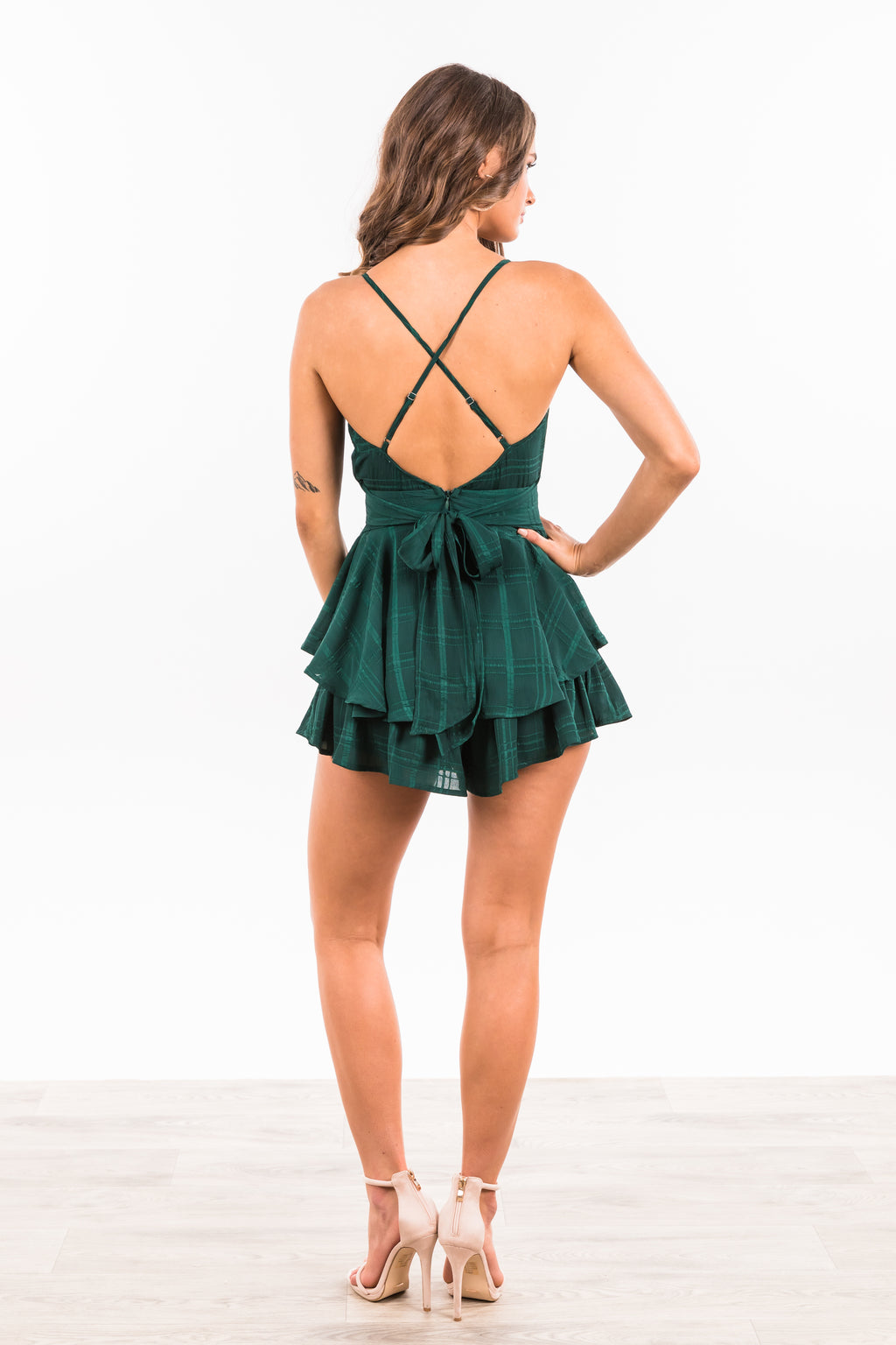 Reese Jumpsuit - Forest Green