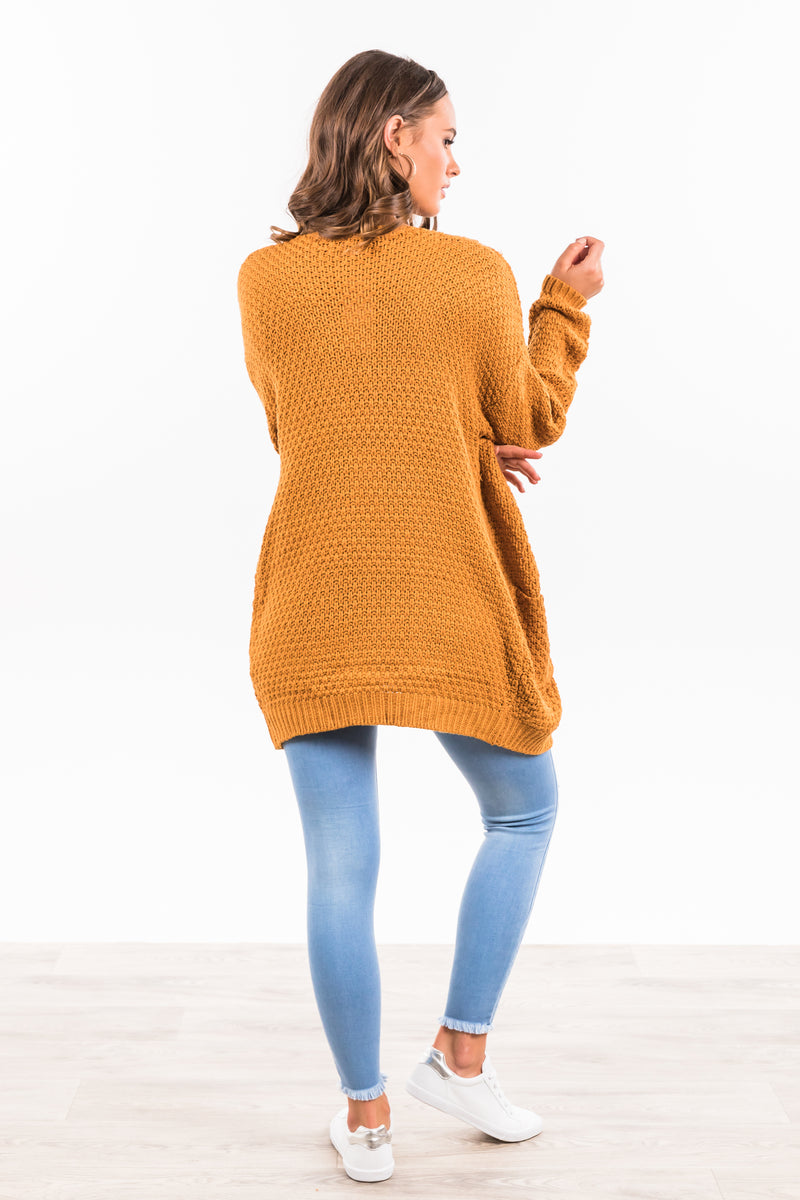Gracelyn Cardigan - Mustard