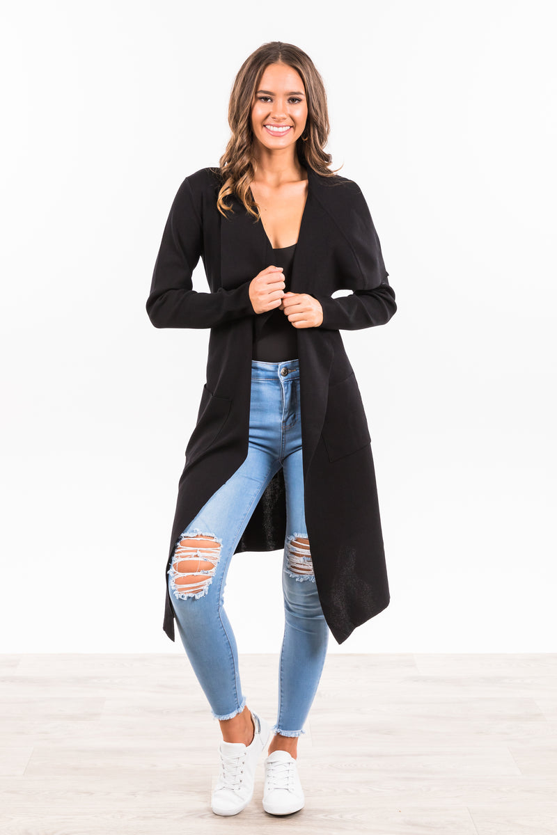 Regency Cardigan - Black