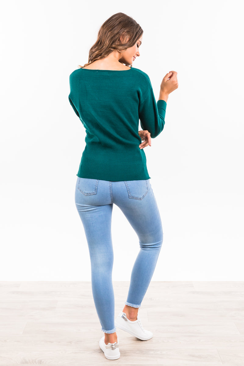Becky Jumper - Teal