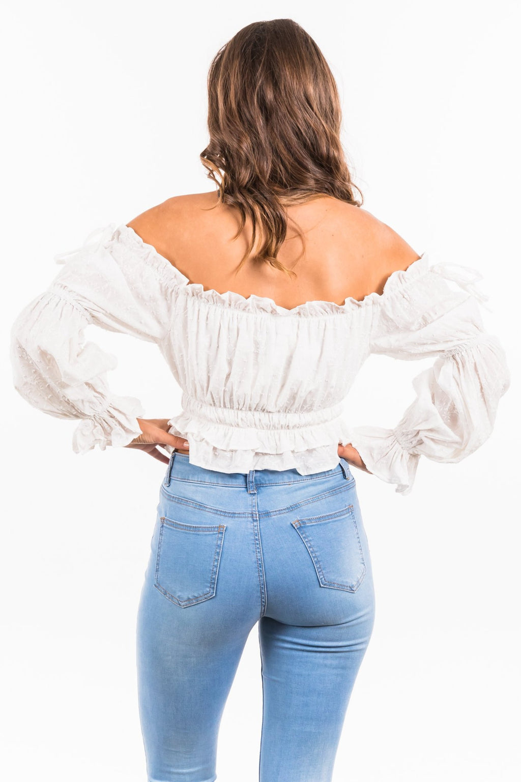 Diana Top - White
