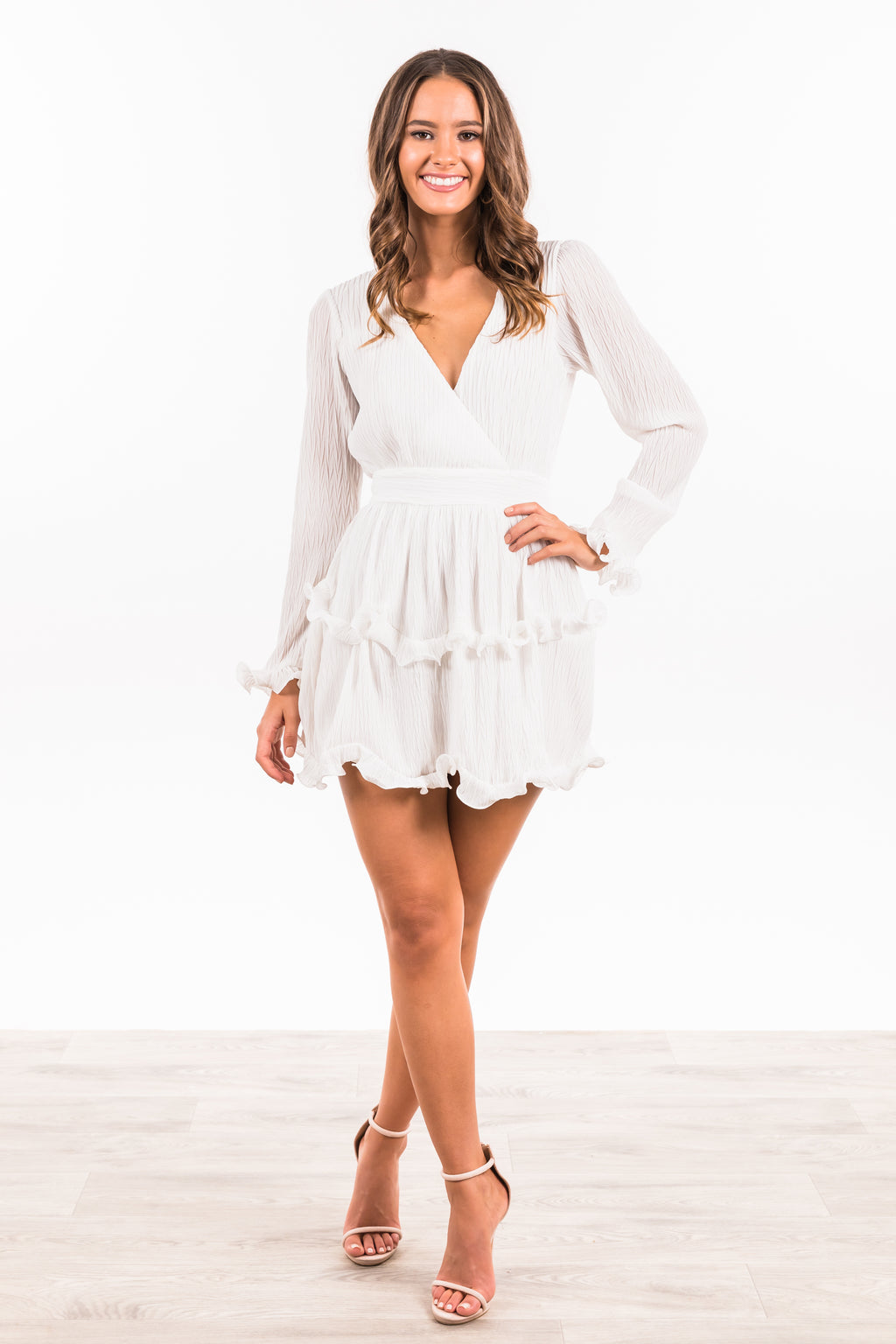 Bindi Dress - White