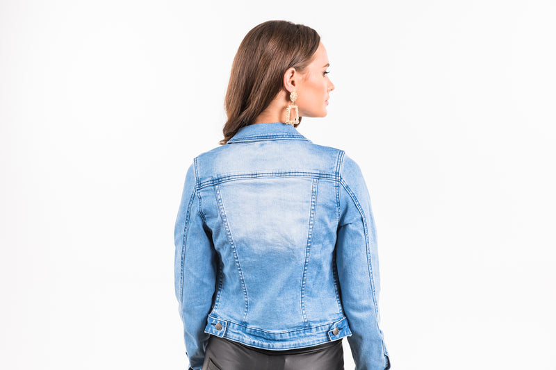 Andie Jacket - Light Denim