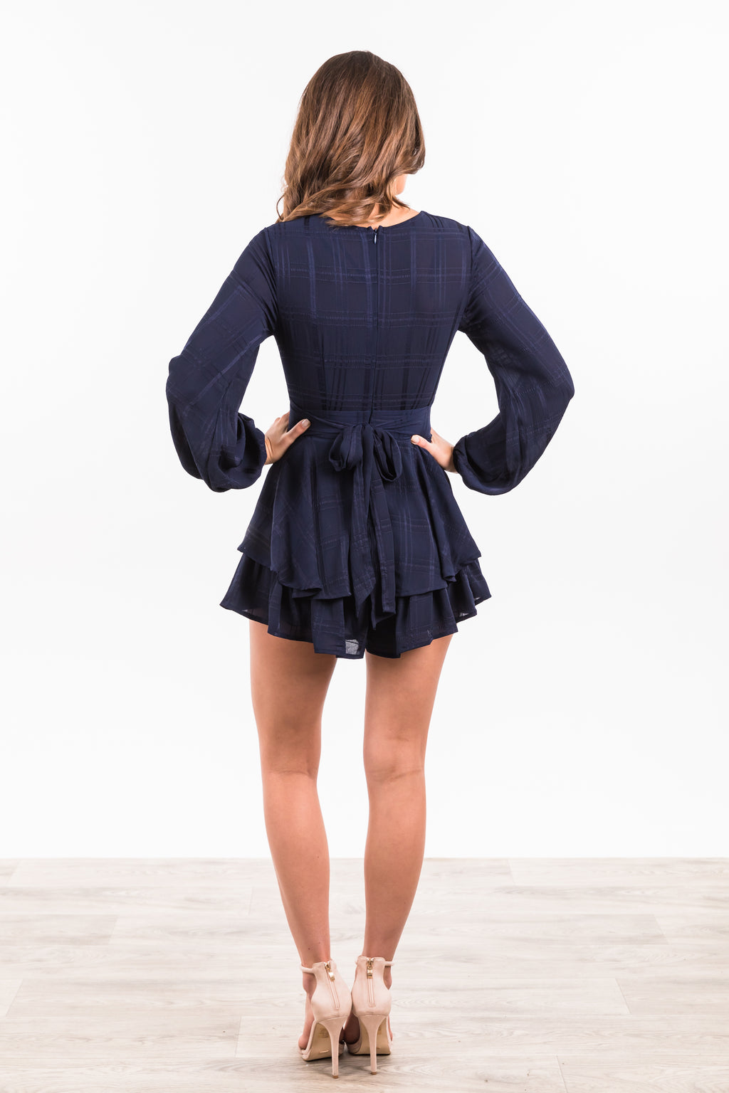 Tamala Playsuit - Navy