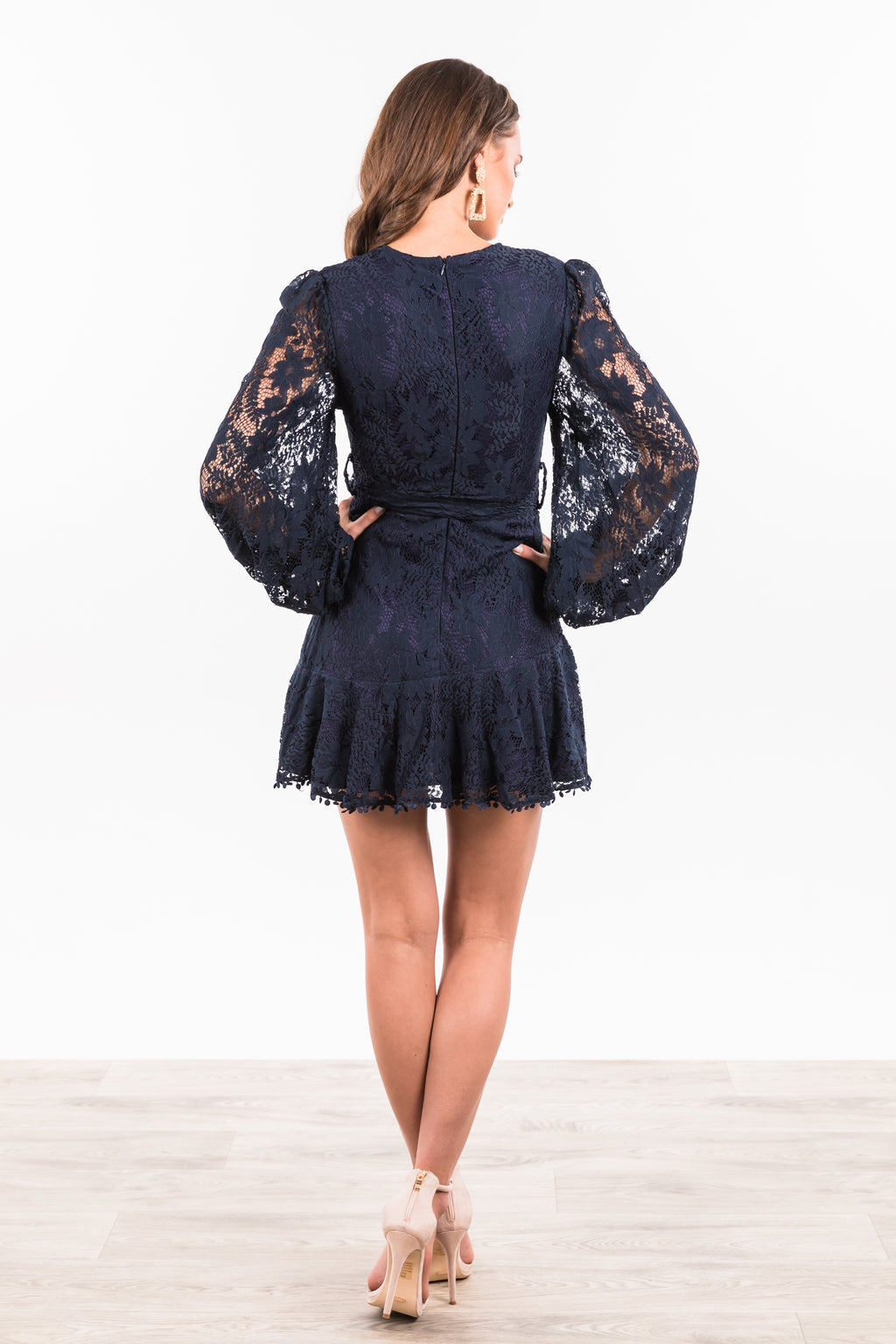 Kendra Dress - Navy