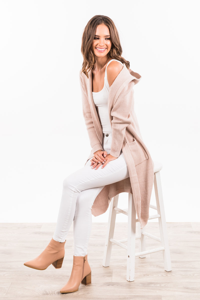 West Village Cardigan - Blush
