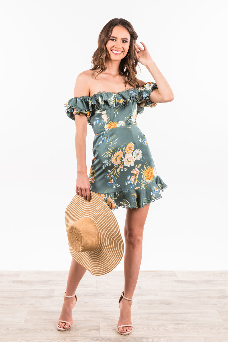 Corfu Dress - Teal