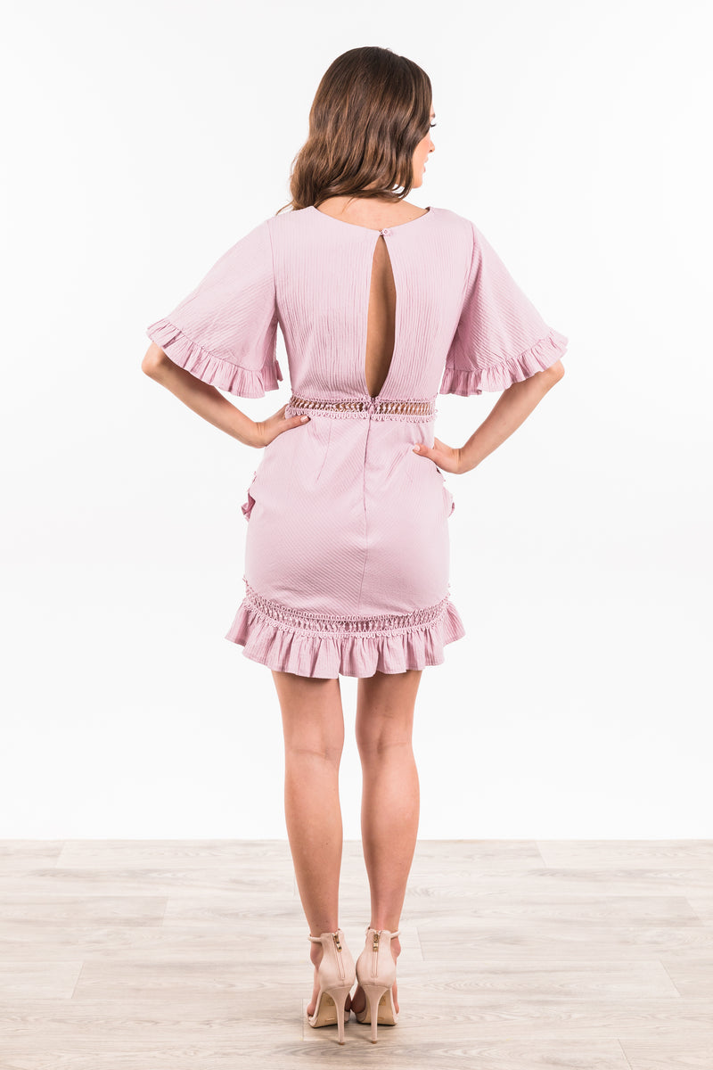 Rhodes Dress - Blush