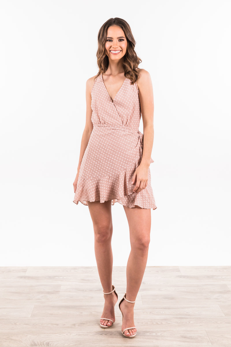 Petra Dress - Nude