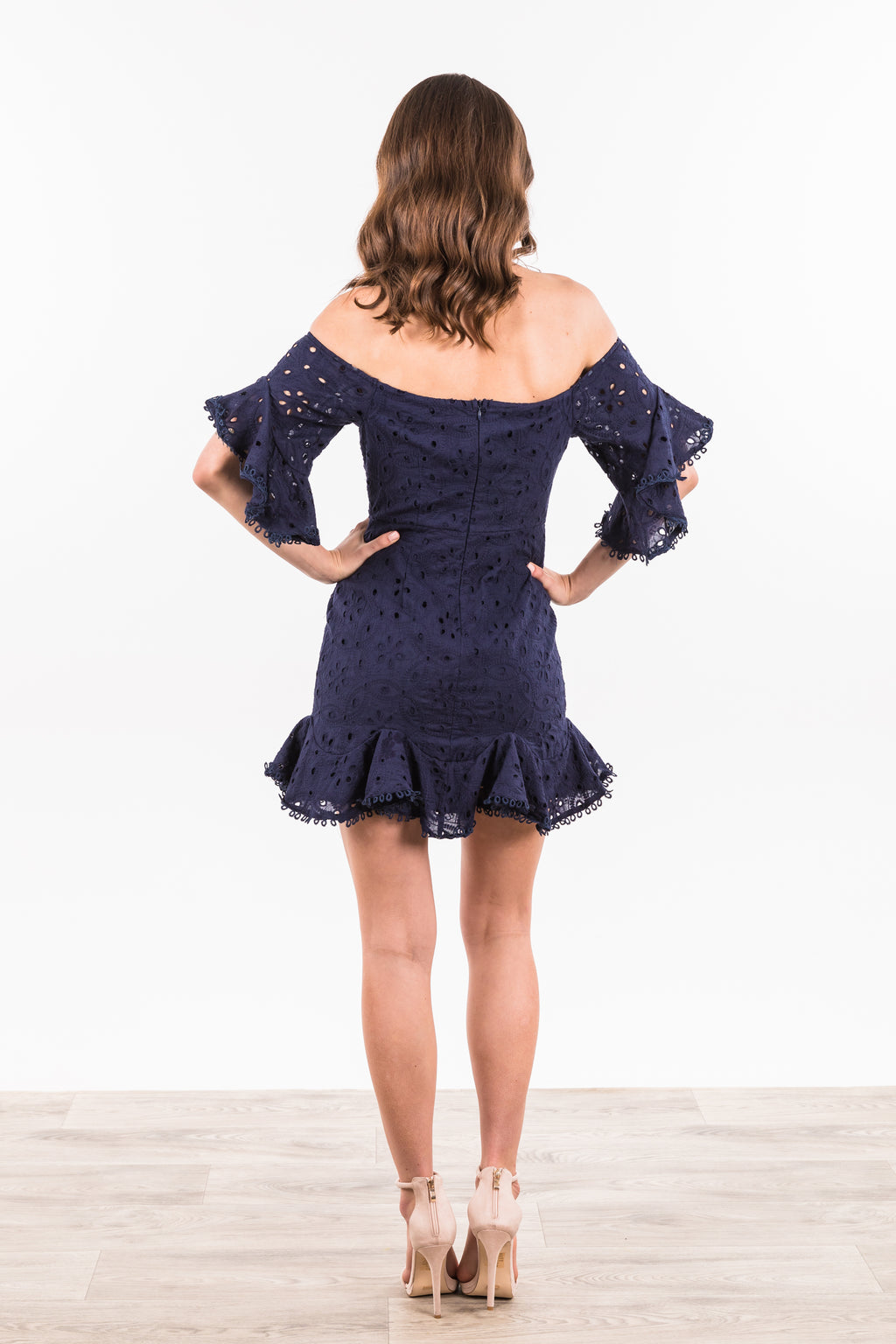 Franklin Dress - Navy