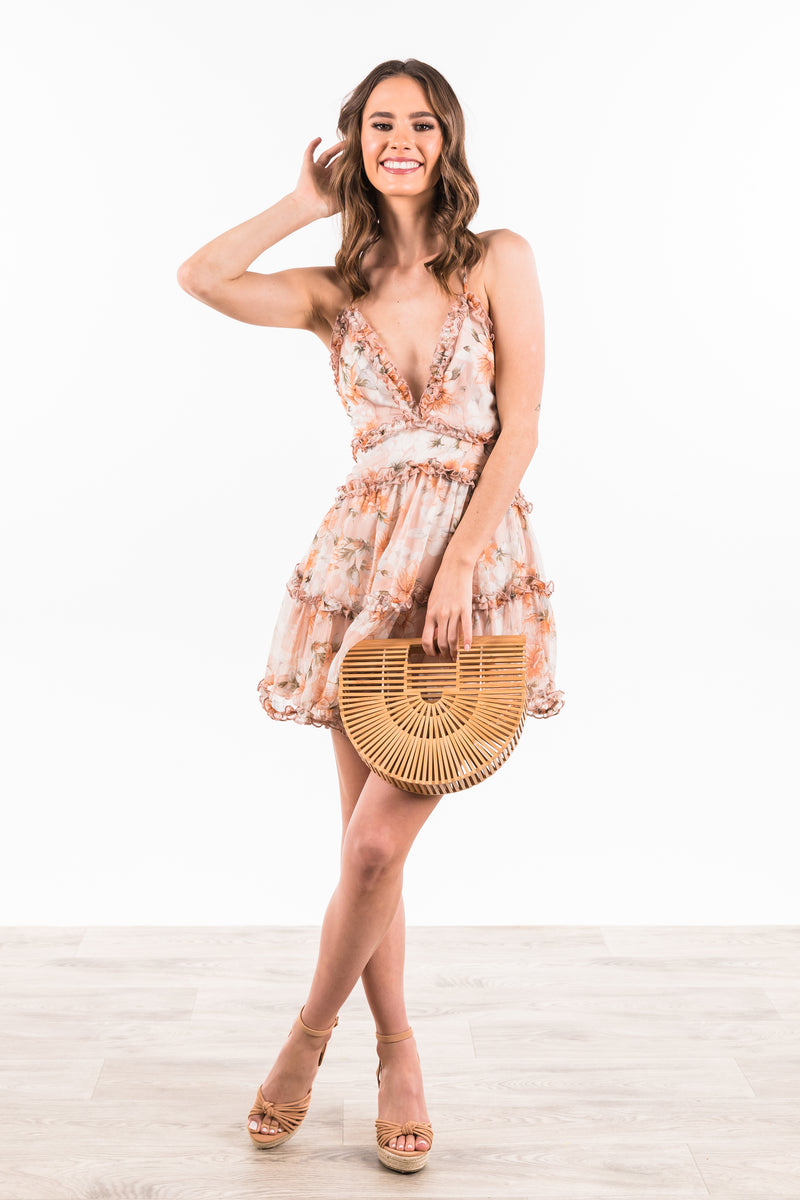 Avon Dress - Nude