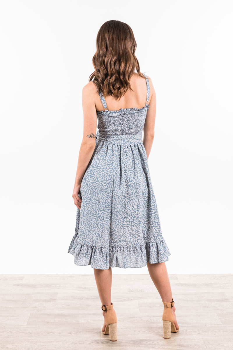 Lianna Dress - Blue