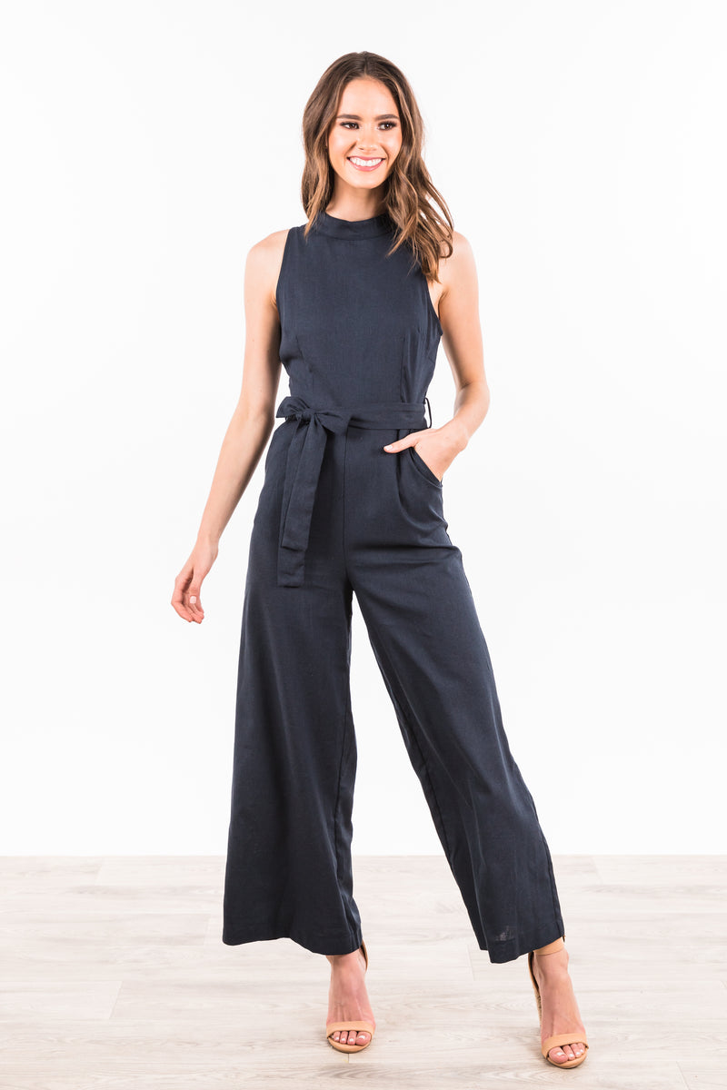 Perri Jumpsuit - Navy