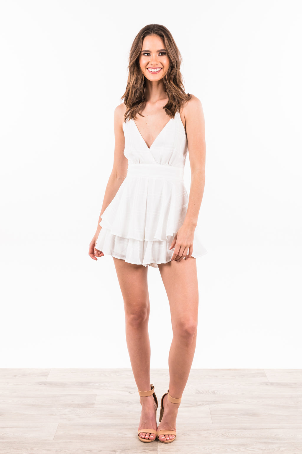 Reese Jumpsuit - White