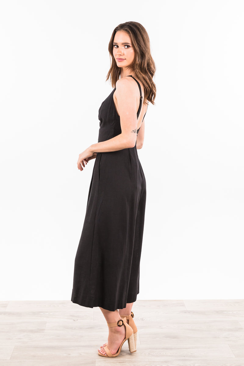 Tyra Jumpsuit - Black