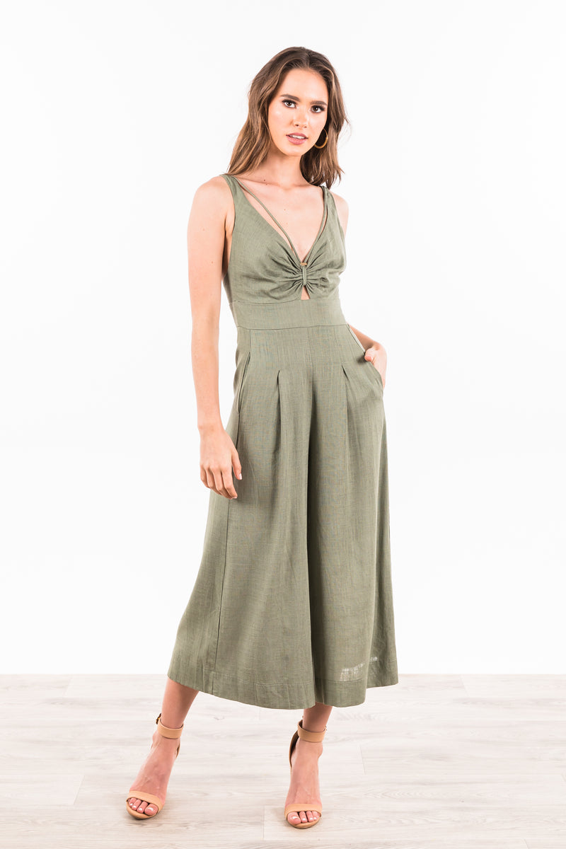 Mabel Dress - Green