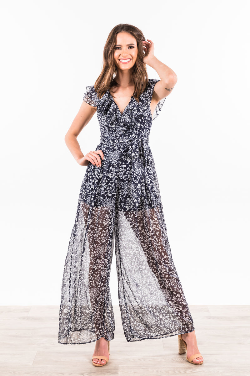 Kai Jumpsuit - Navy
