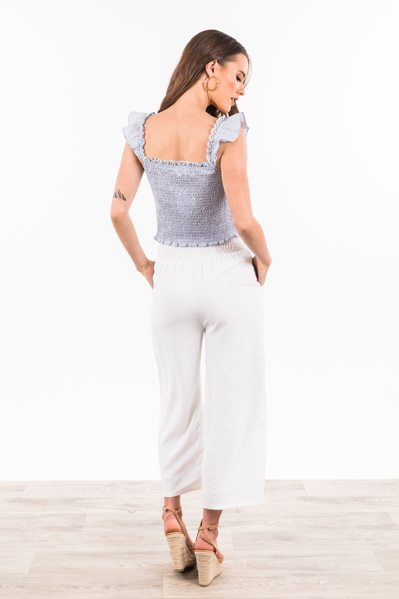 Casablanca Pants - White