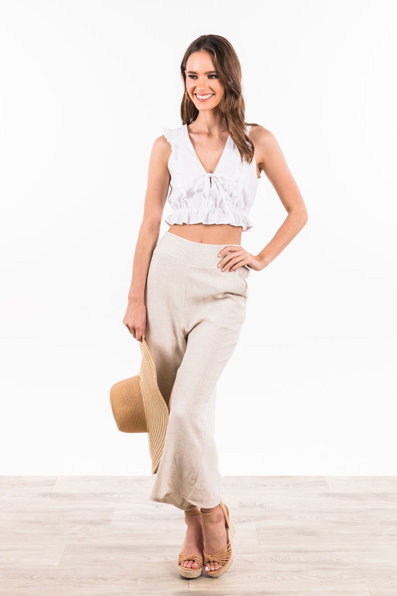 Casablanca Pants - Beige