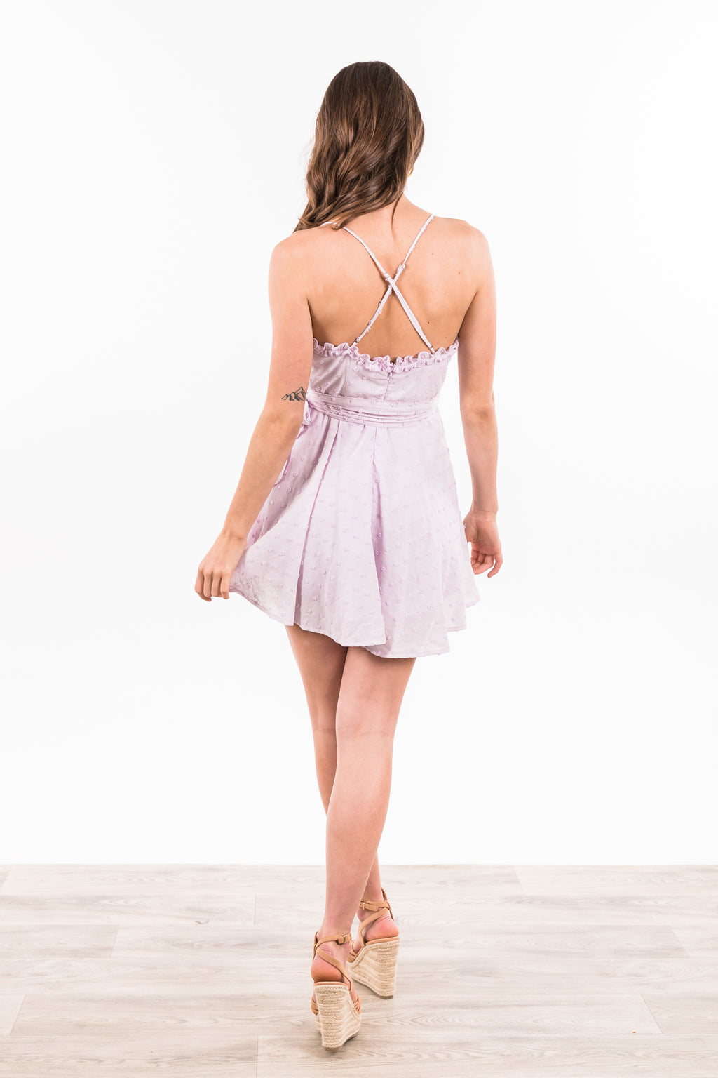 Ashleigh Dress - Lavender