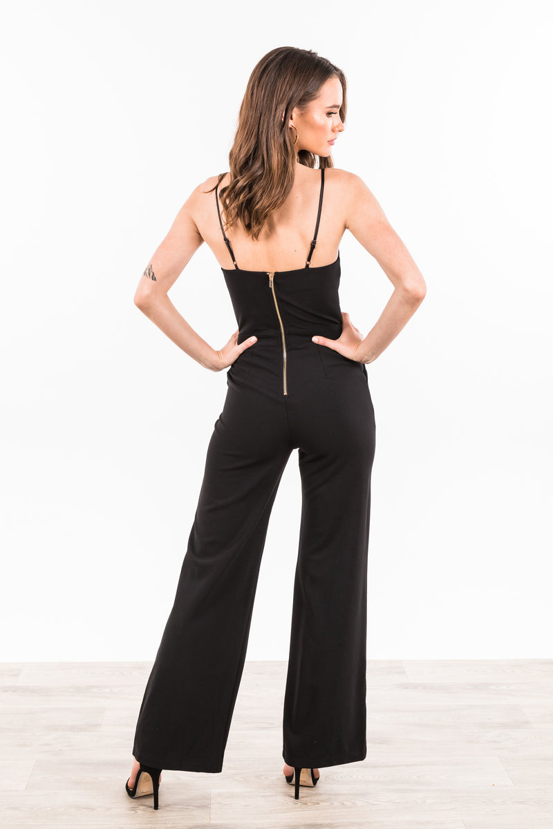 Albany Jumpsuit - Black