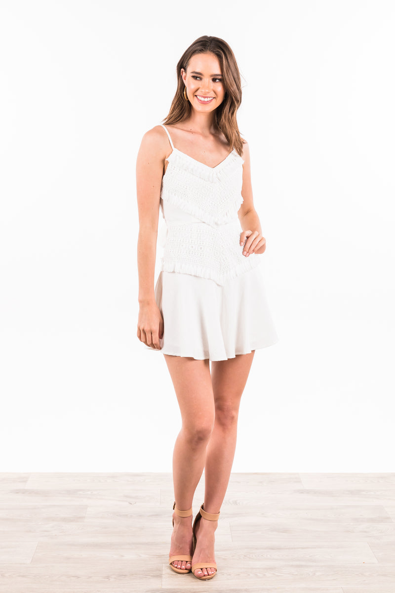 Anabelle Dress - White