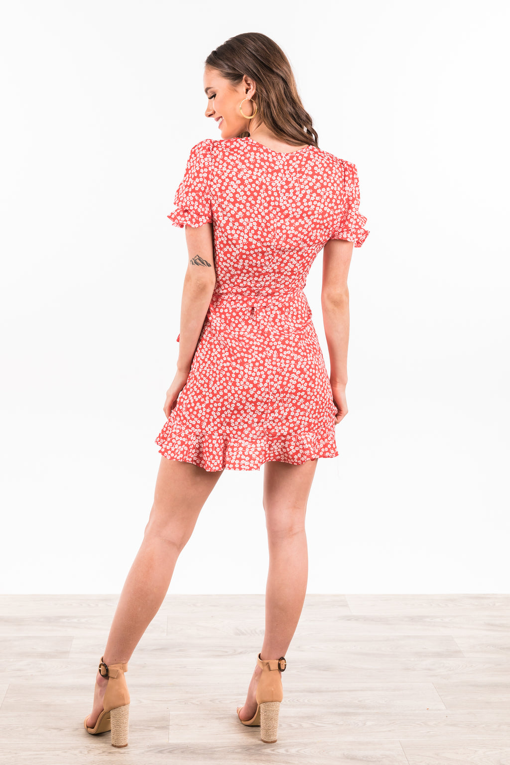Seville Dress - Red