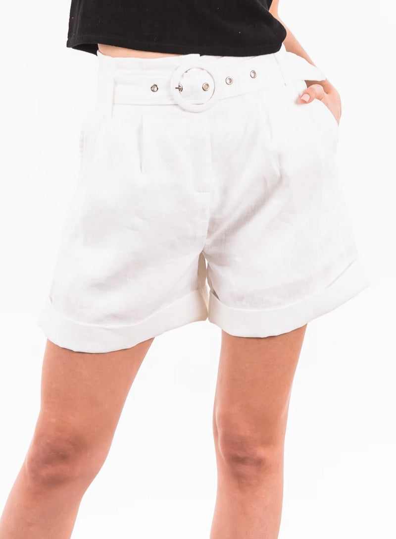 Bond Shorts - White
