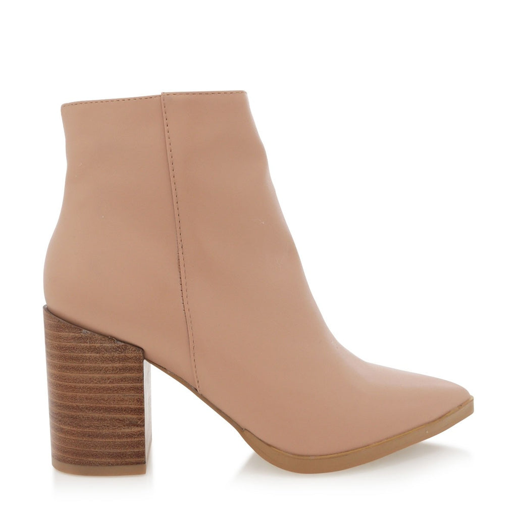 Billini Acler Boots - Light Taupe