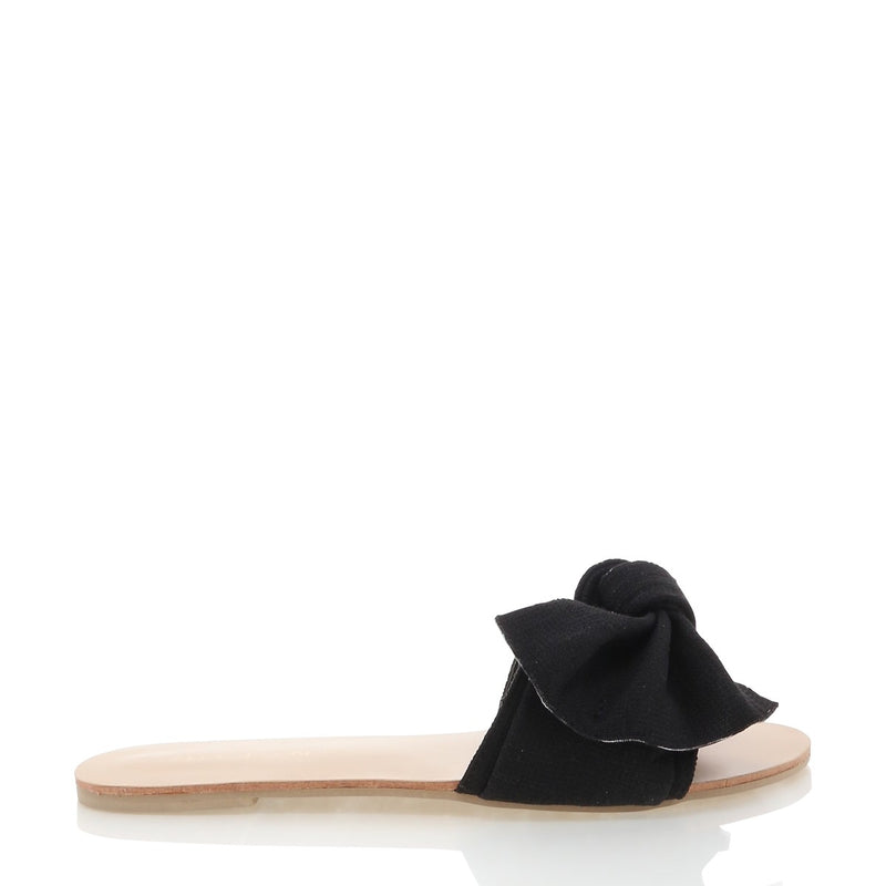 Billini Alpha Slide - Black Linen