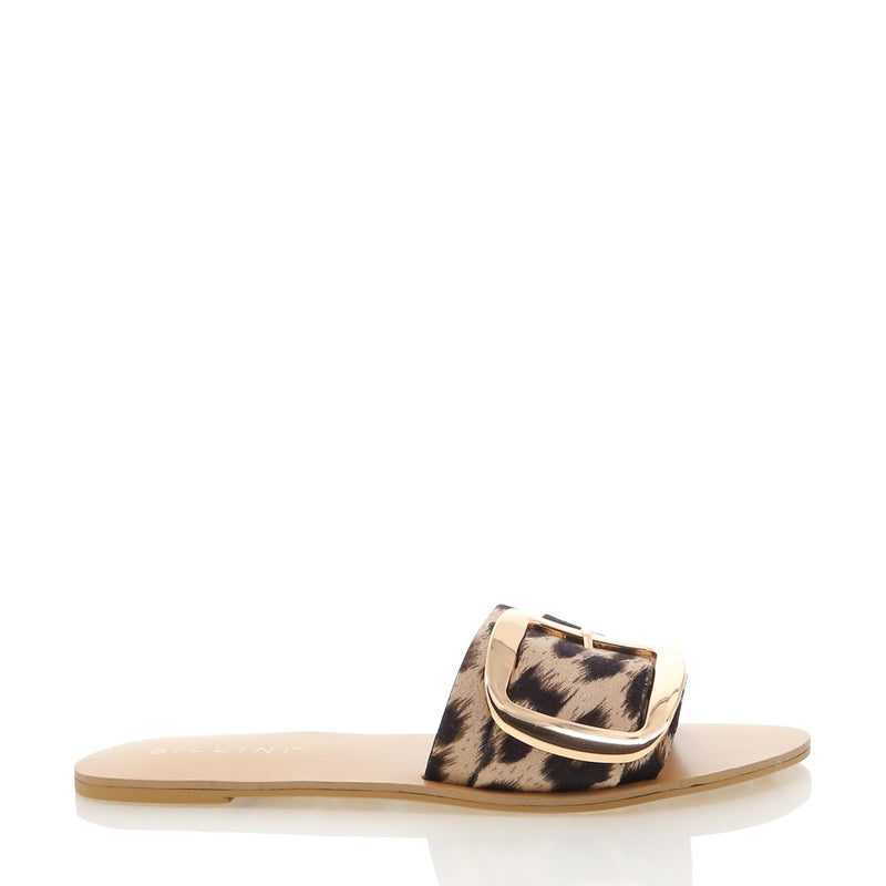 Billini Cayo Slide - Light Leopard