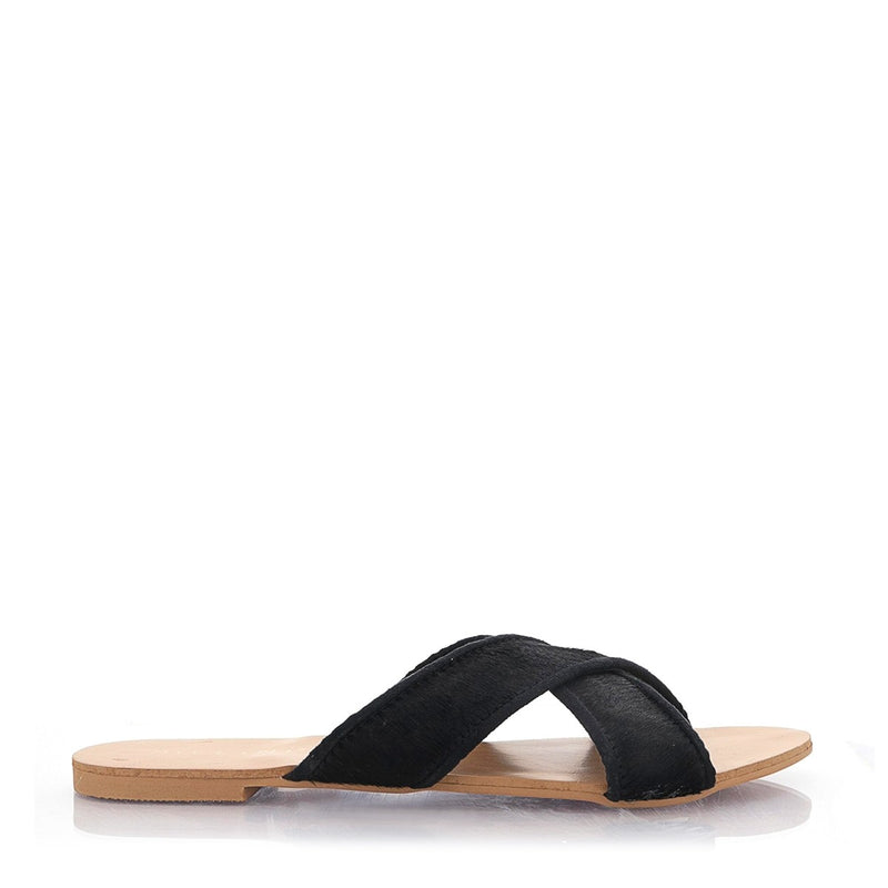 Billini Marsala Slide - Black Pony