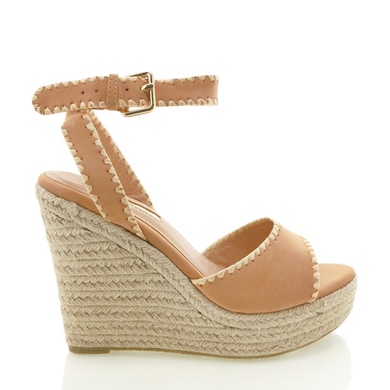 Billini Sasha Wedge - Camel Nubuck